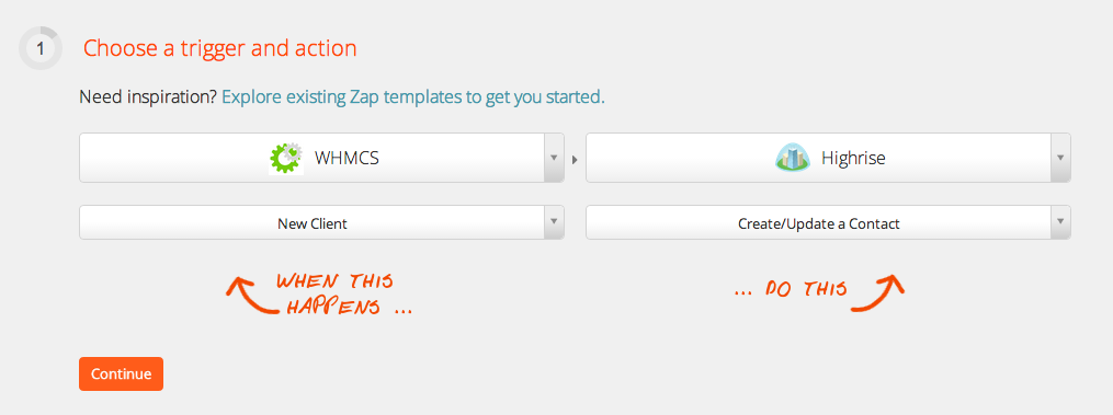 WHMCS - Integration Help & Support | Zapier