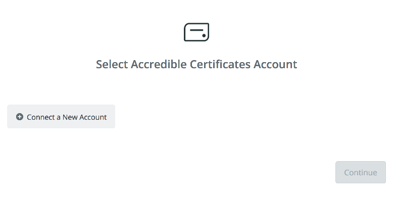 Accredible Certificates API Key