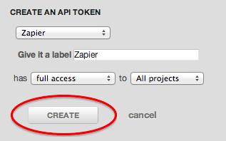 Label your Lighthouse API Key