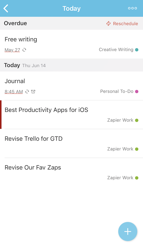 Todoist for iPhone