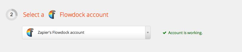 Flowdock Account Test