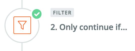 Zapier Filters