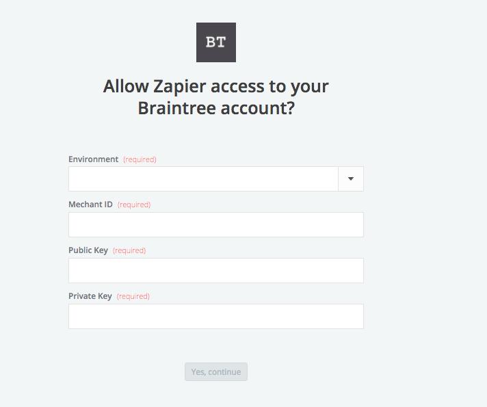 APP API Keys