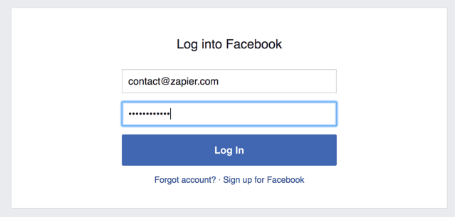 Login to Facebook Groups