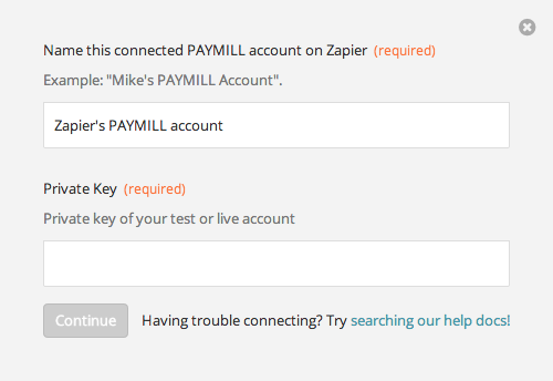 Finding your PAYMILL API Key