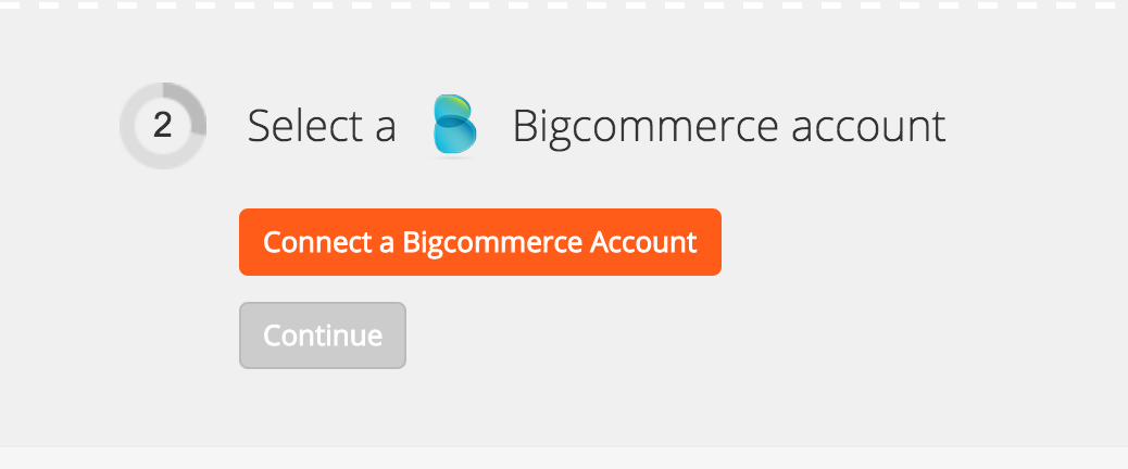 Connect your BigCommerce account to Zapier