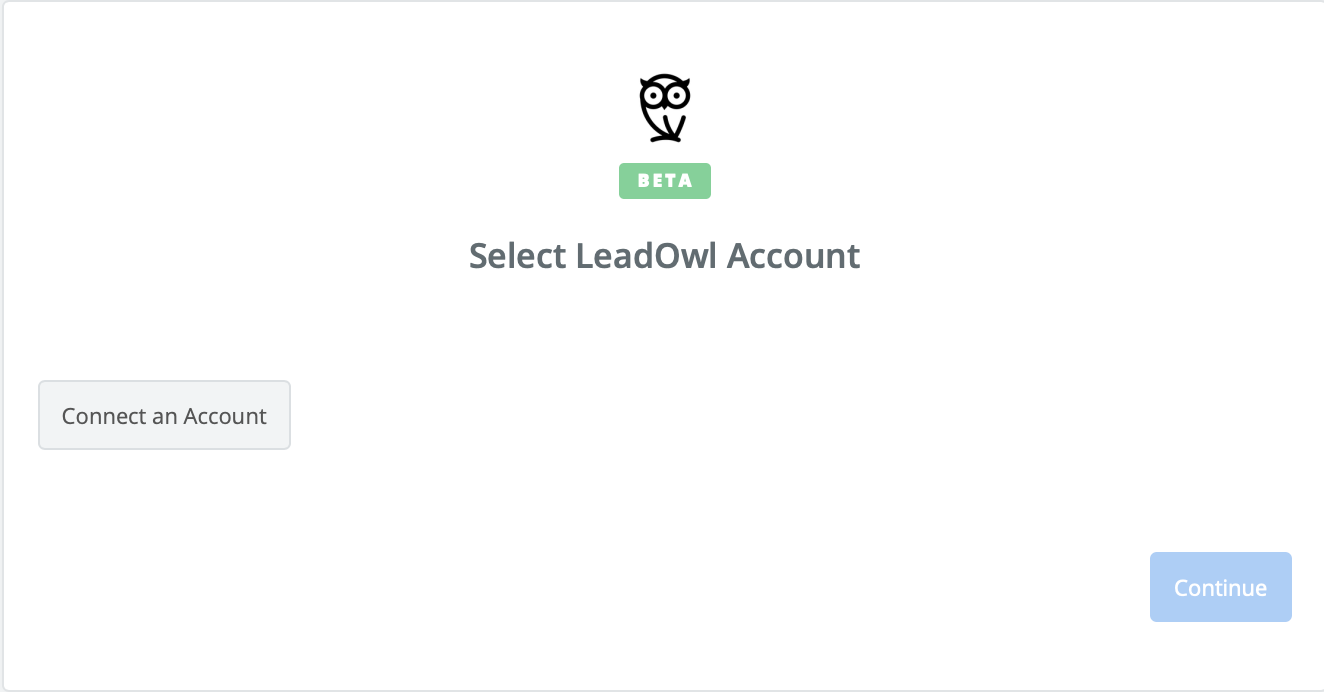 Click to connect LeadOwl
