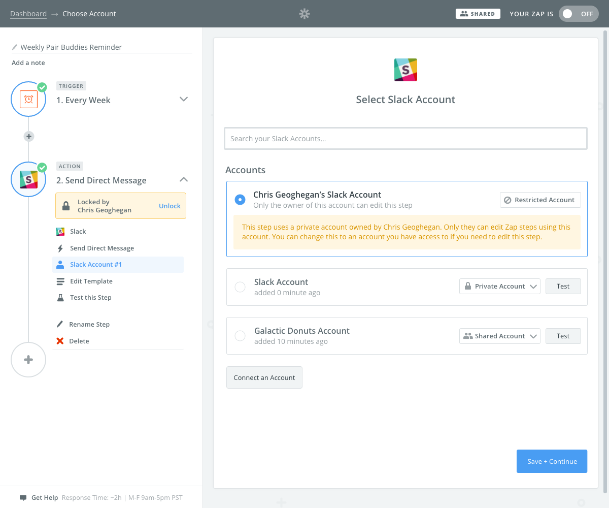 Introducing Shared Folders for Team Accounts - Updates | Zapier