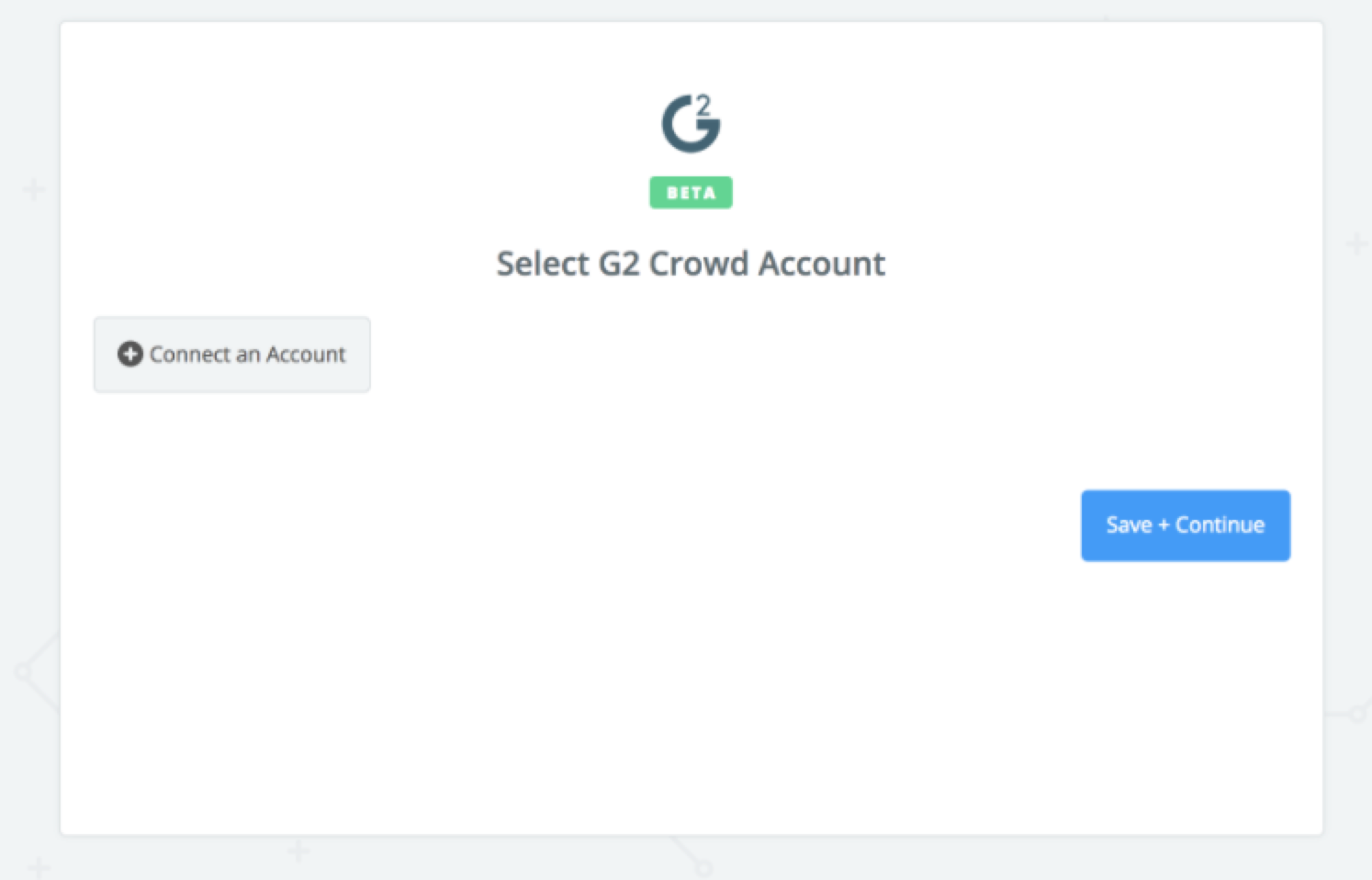 Click to connect G2 Crowd