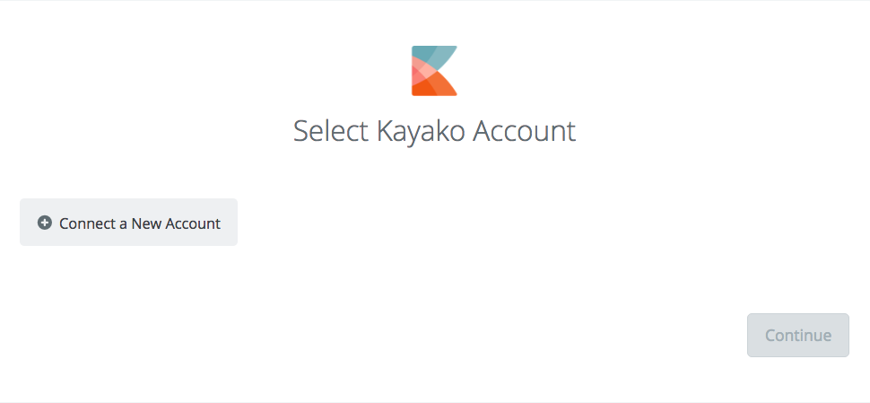 Click to connect Kayako