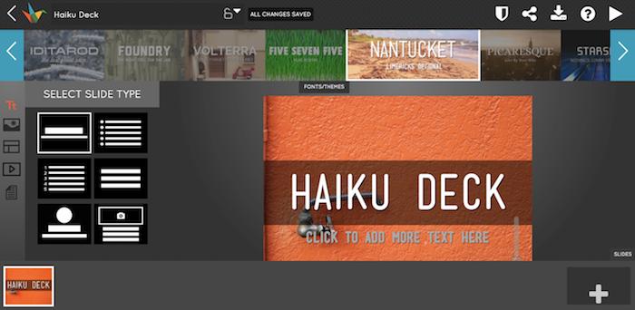 HaikuDeck