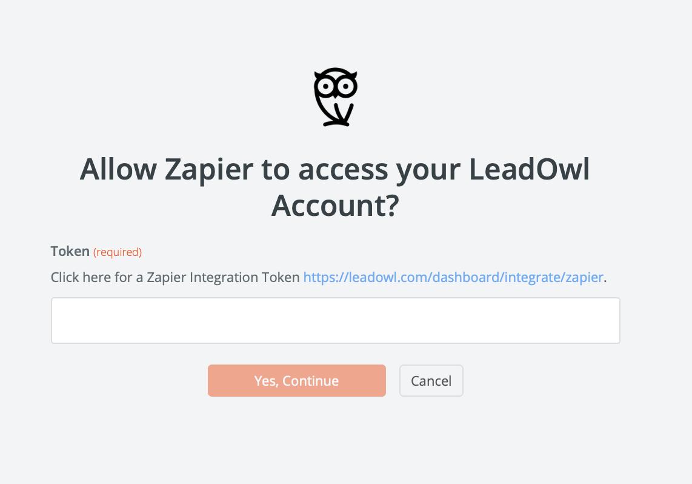 LeadOwl API Key