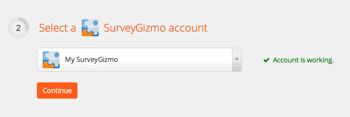 SurveyGizmo ready to use on Zapier