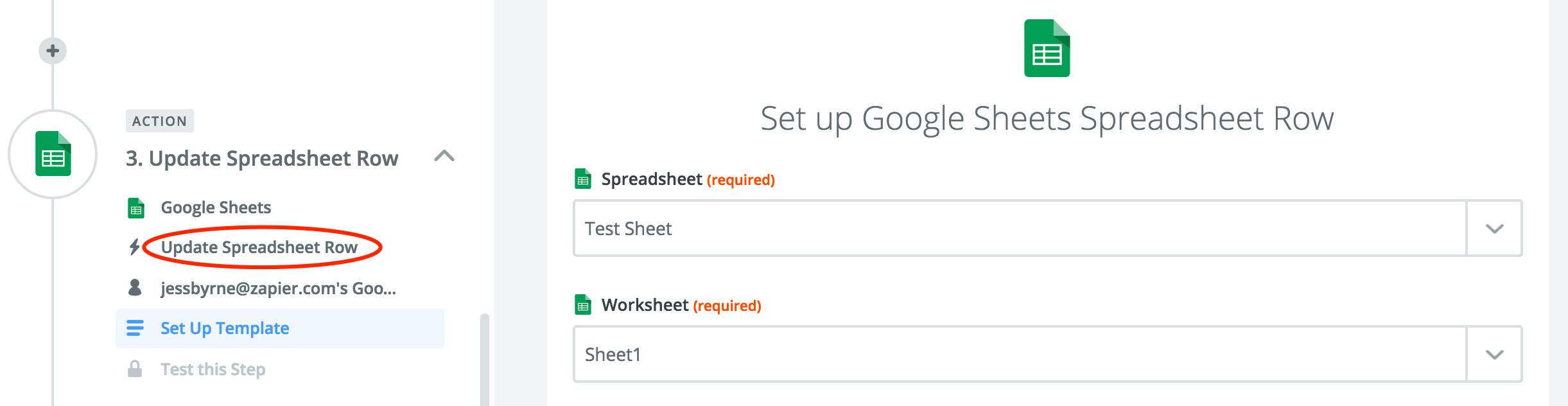 Google Sheets Integration Help Support Zapier – Google Worksheet