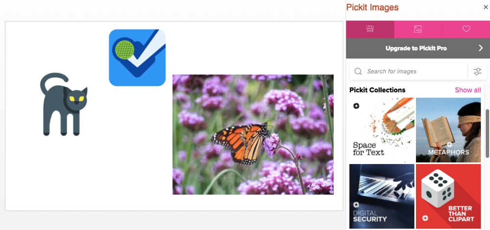 PowerPoint Pickit add-in