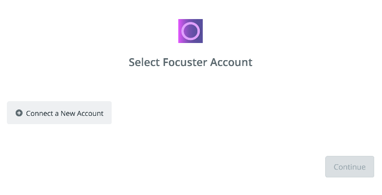 Click to connect Focuster