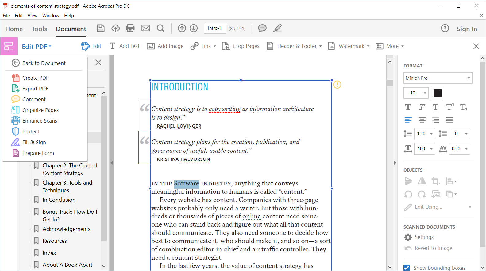 Create and edit PDF. Tips for working with the popular format from Adobe