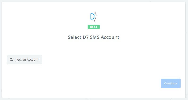Click to connect  D7 SMS