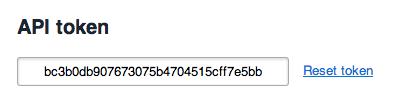 Toggl API Key in Toggl
