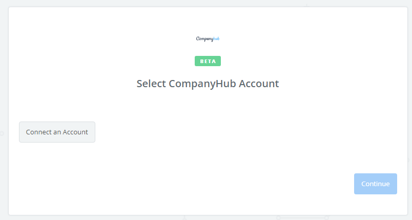 Click to connect CompanyHub