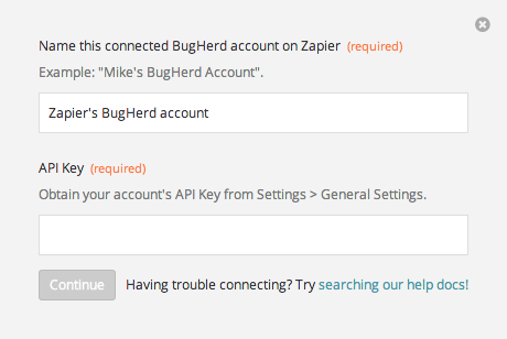 Finding your BugHerd API Key