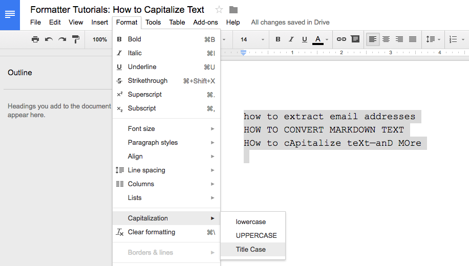 How To Automatically Capitalize Text The Way You Want