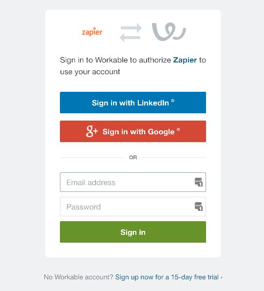 Workable login