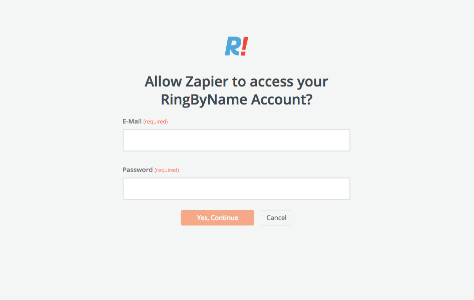 RingByName username and password