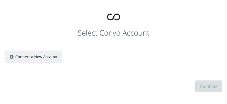 Select Convo Account