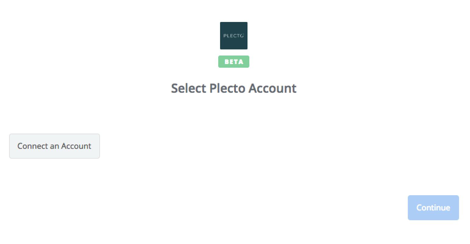 Click to connect  Plecto