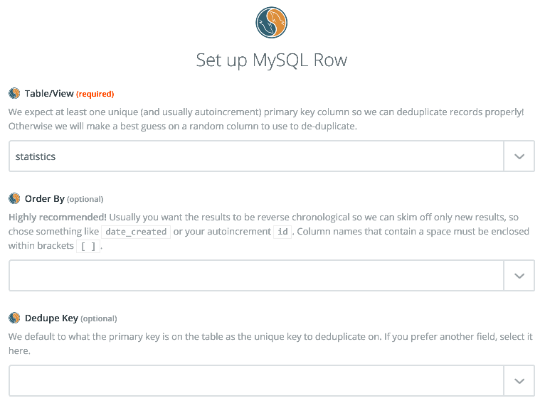 MySQL - Integration Help & Support | Zapier
