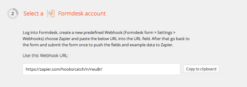 Connect your Formdesk account to Zapier