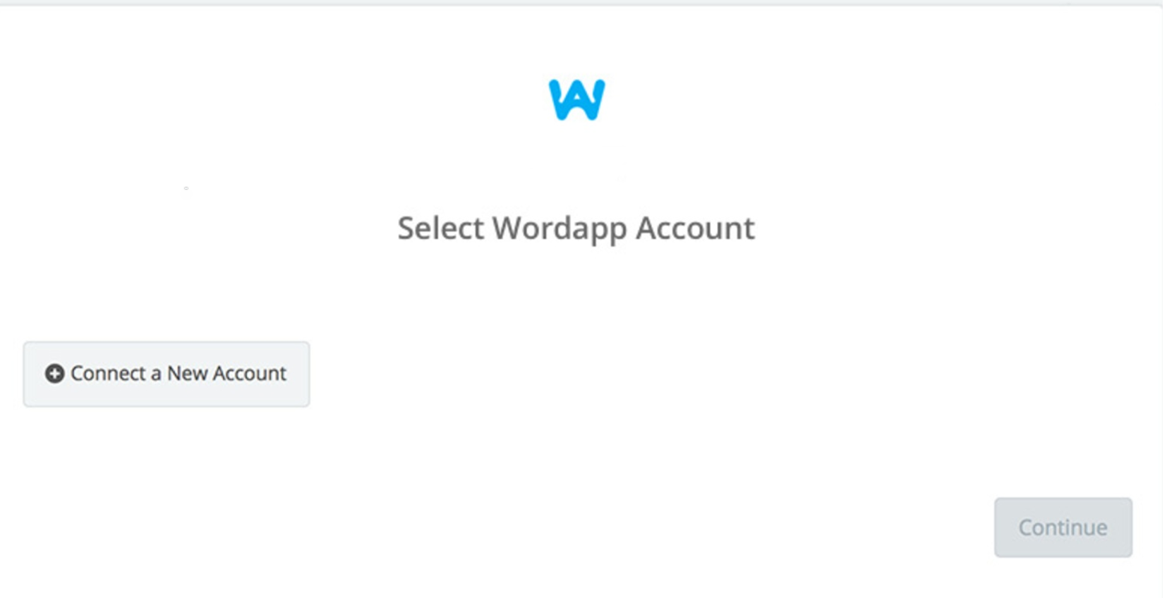 Click to connect Wordapp