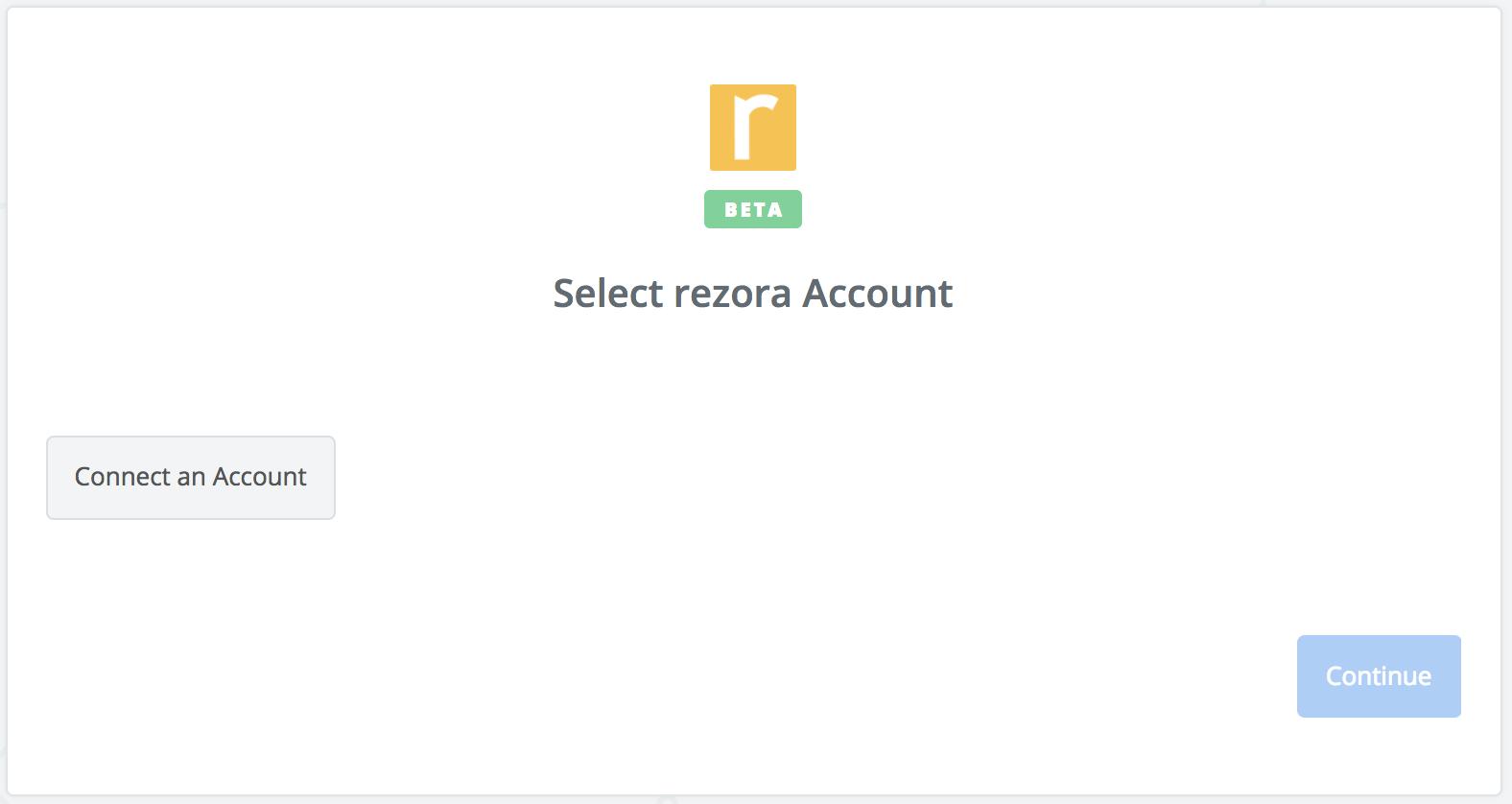 Click to connect rezora