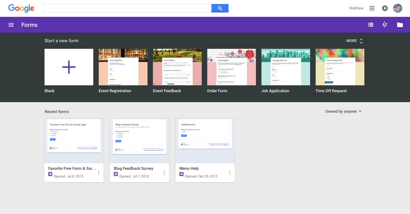 Google Forms Review: Pricing, Features and Alternatives - Zapbook ...