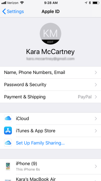Find your Apple contacts under iCloud.