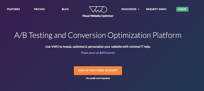 Visual Website Optimizer for Nonprofits