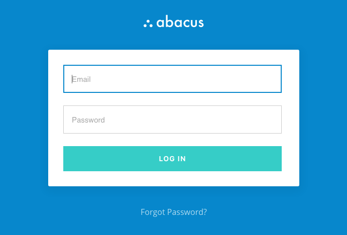 Login to Abacus