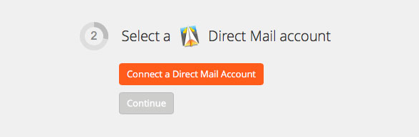 Click to connect Direct Mail