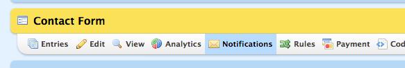 Wufoo Form Notifications