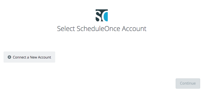 connect to ScheduleOnce