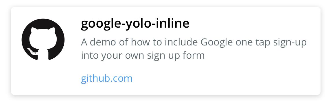 google-yolo-inline on GitHub