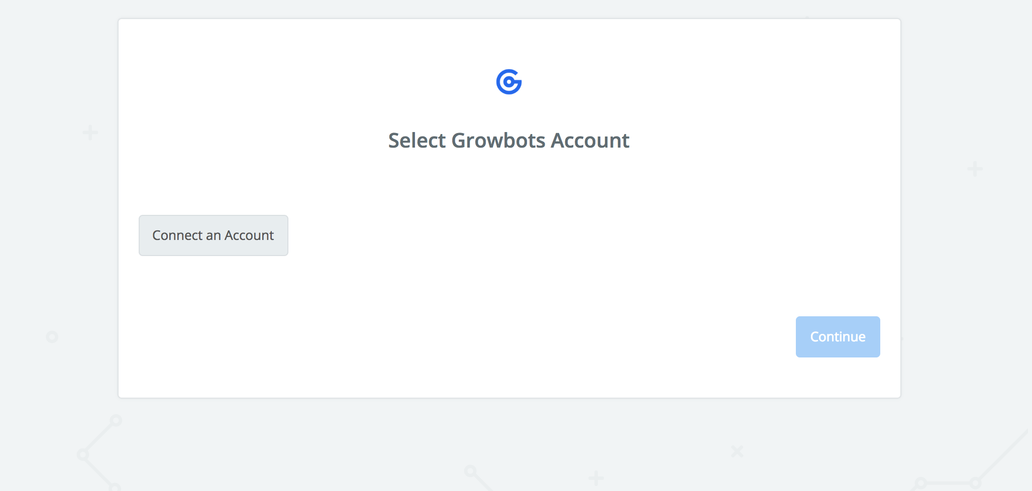 Click to connect Growbots