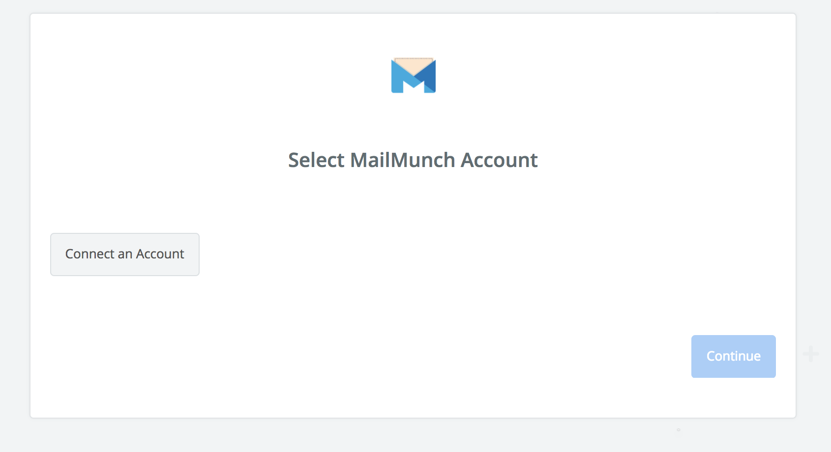 Click to connect MailMunch