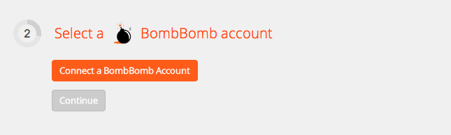 Connect your BombBomb account to Zapier