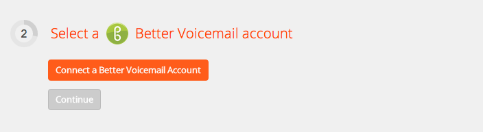 Connect your BetterVoicemail account to Zapier