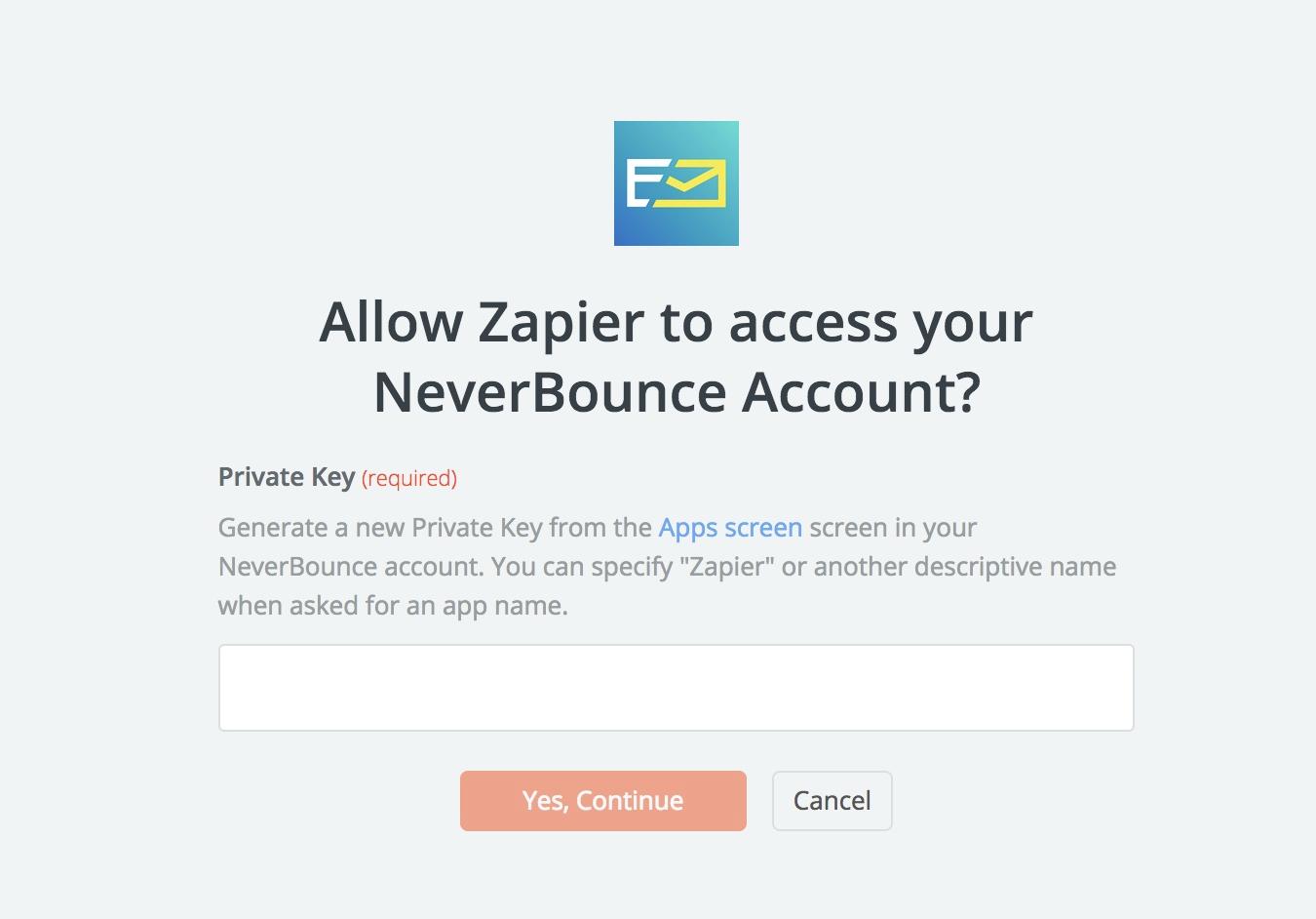 NeverBounce API Key