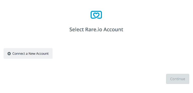 Click to connect Rare.io