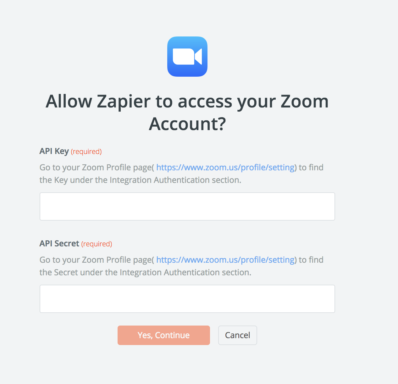 Zoom - Integration Help & Support | Zapier