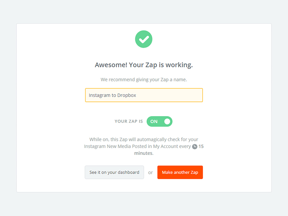 Download all your social media posts with Zapier